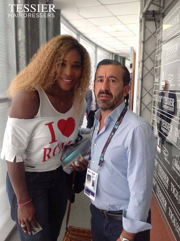 Tessier Hairdressers_Carlo Tessier_Serena Williams
